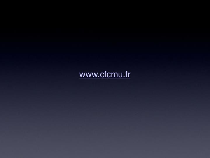 www.cfcmu.fr
