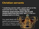christian servants8