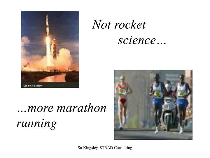 Not rocket