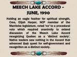 meech lake accord june 1990