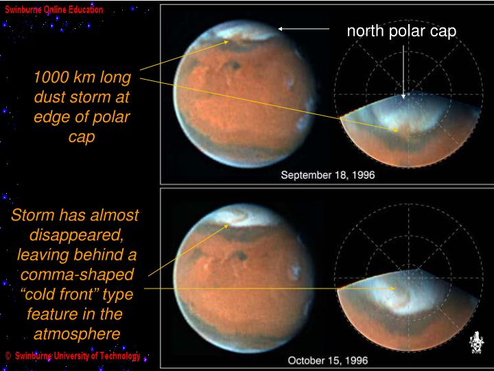 Martian dust storm has become global 86