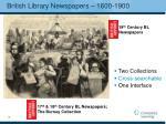 british library newspapers 1600 1900