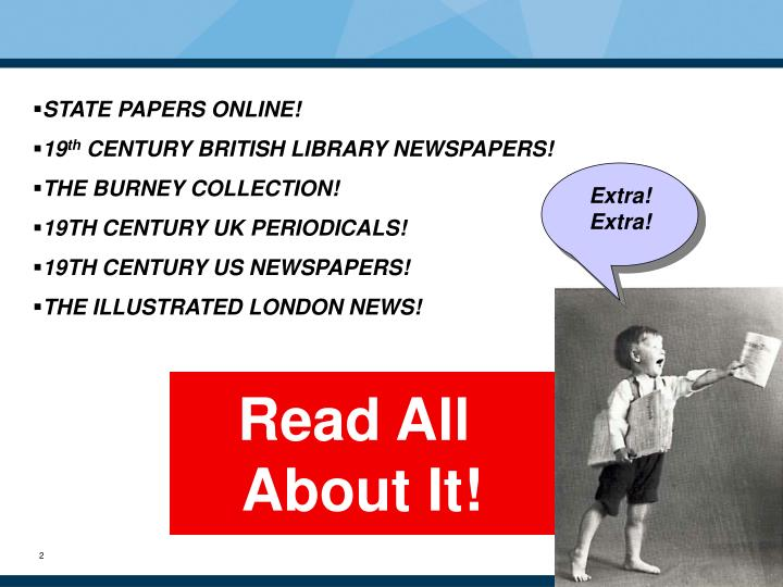 STATE PAPERS ONLINE!