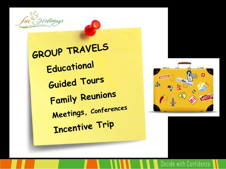 GROUP TRAVELS