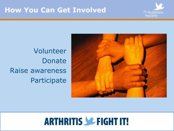How You Can Get Involved
