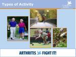 types of activity