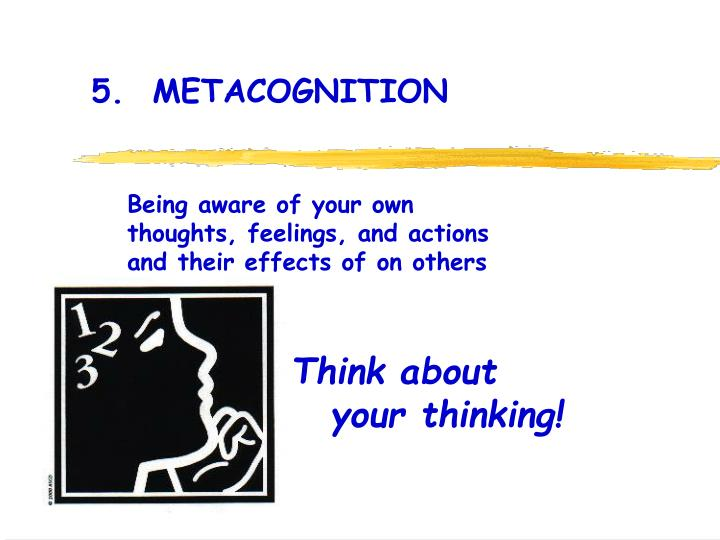 5.  METACOGNITION