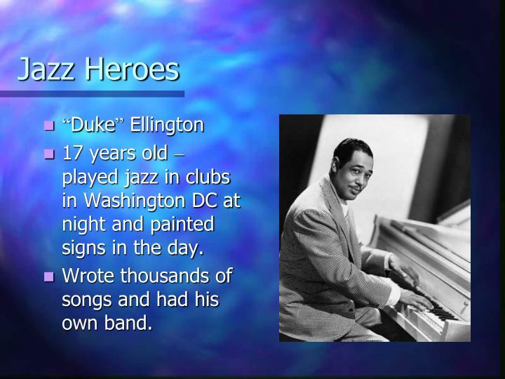Jazz Heroes
