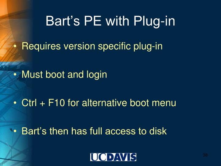Bart's PE with Plug-in