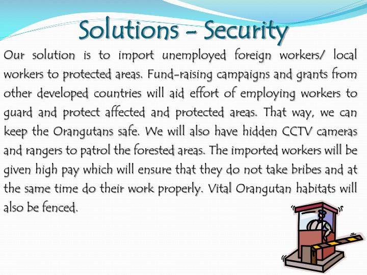 Solutions - Security