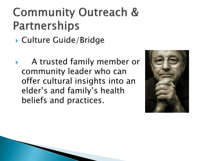 Community Outreach & Partnerships