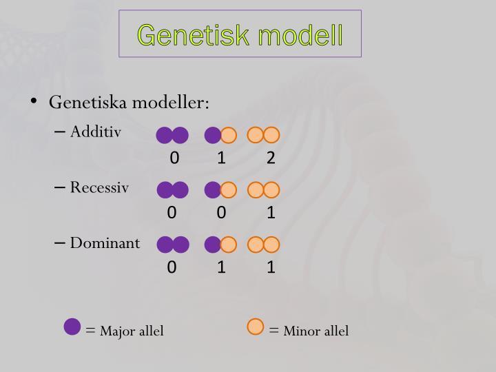 Genetisk modell