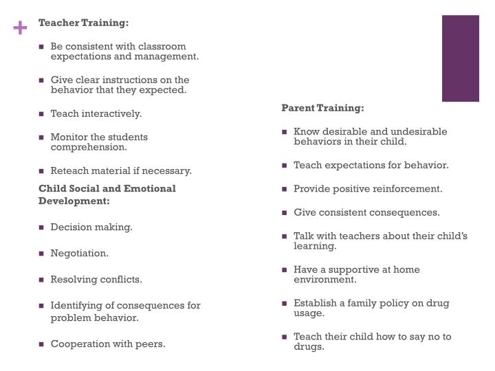 Teacher Training: