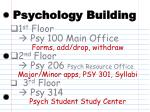psychology building