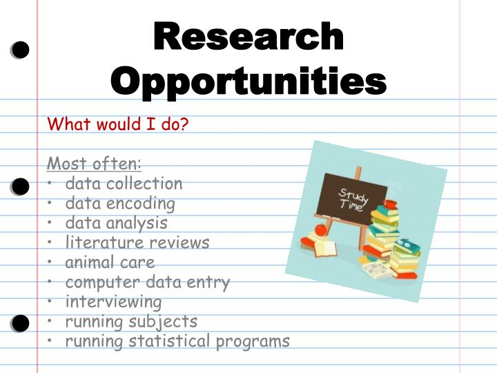 Research Opportunities