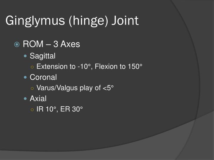 Ginglymus