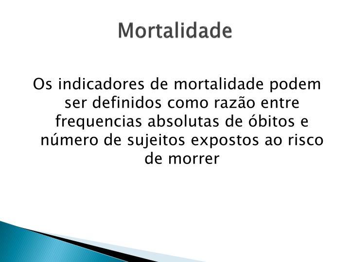 Mortalidade