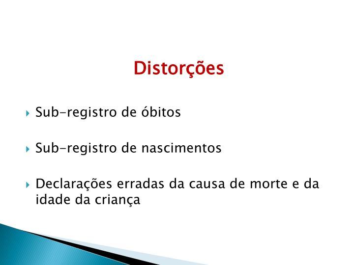 Distorções
