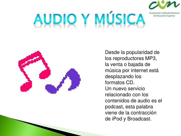 Audio y música