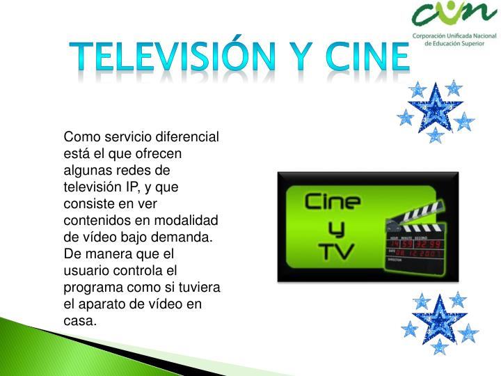 Televisión y cine