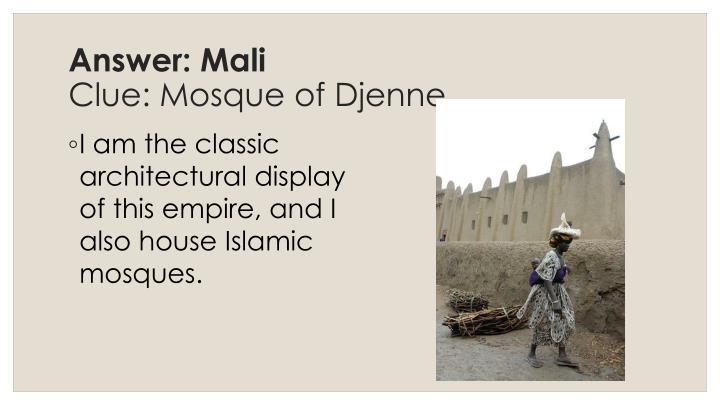 Answer: Mali