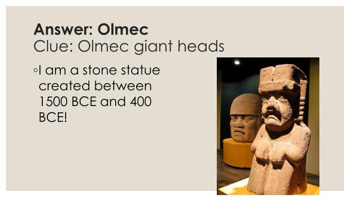 Answer: Olmec