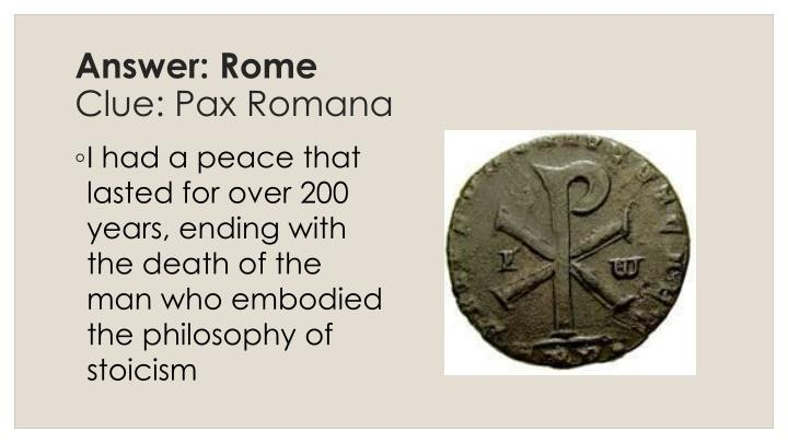 Answer: Rome