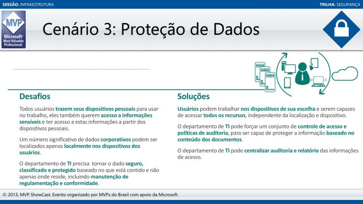 Cenário 3: Proteção de Dados