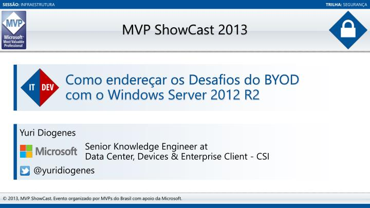 Como endere ar os desafios do byod com o windows server 2012 r2