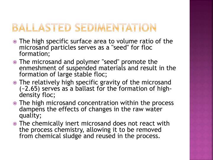 Ballasted Sedimentation