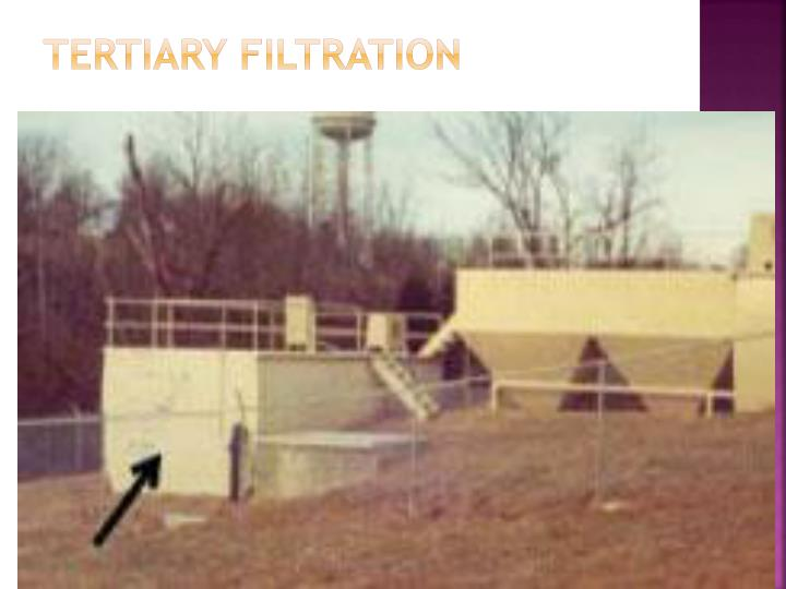 Tertiary Filtration