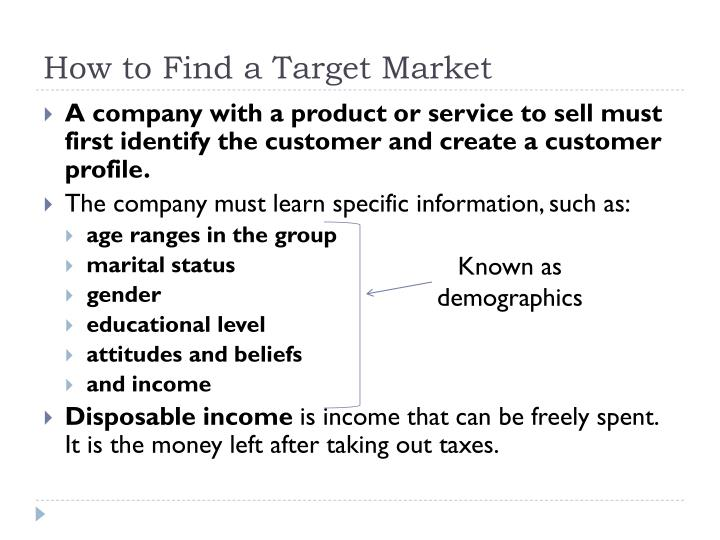 How to Find a Target Market