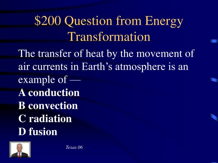 $200 Question from Energy Transformation