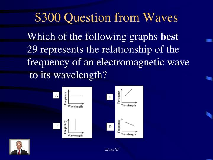 $300 Question from Waves