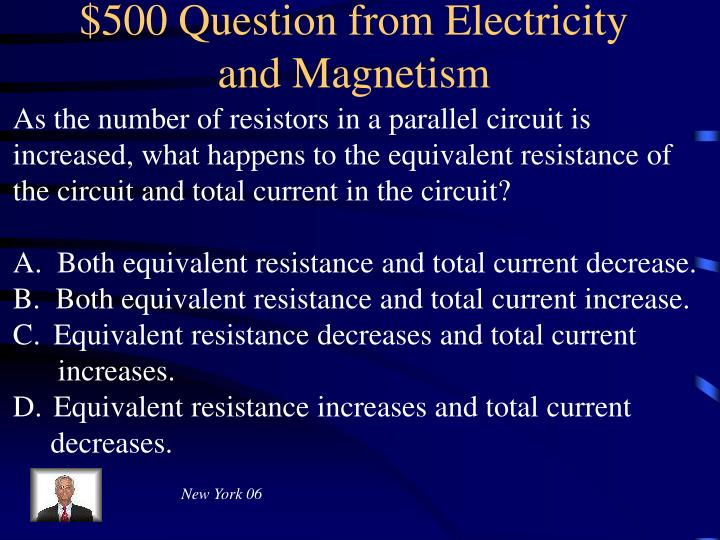 $500 Question from Electricity and Magnetism