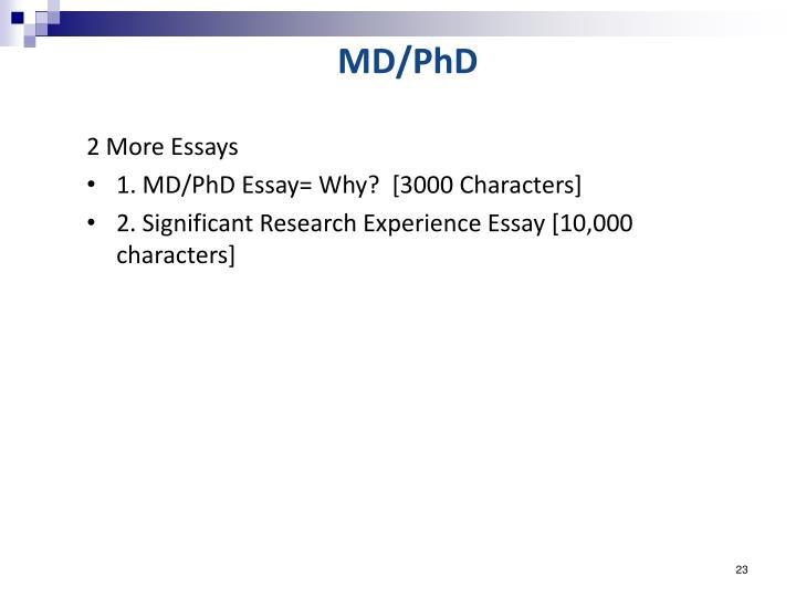 MD/PhD