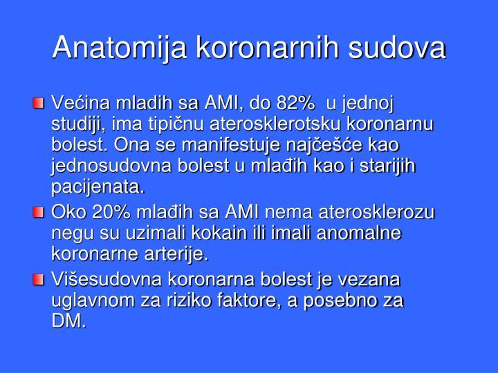 Anatomija koronarnih sudova