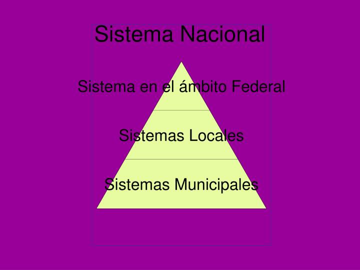 Sistema Nacional