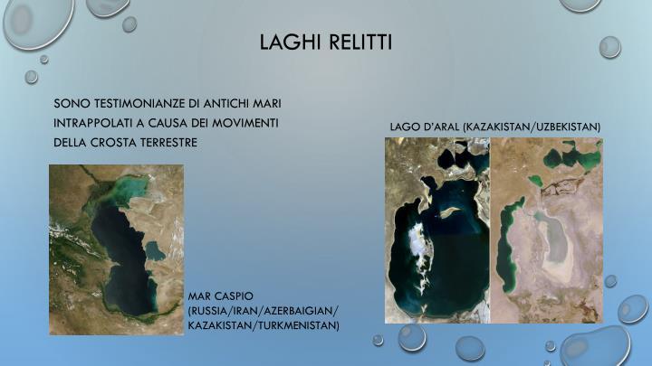 LAGHI RELITTI