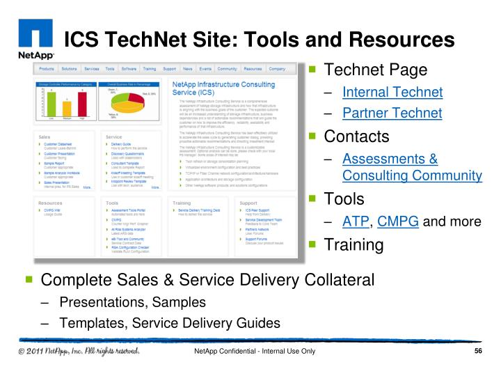 ICS TechNet Site: Tools and Resources