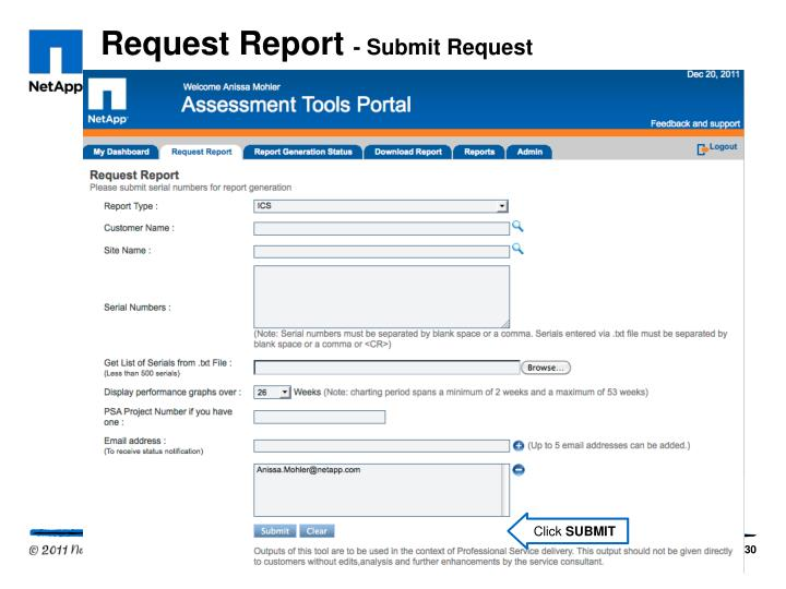 Request Report