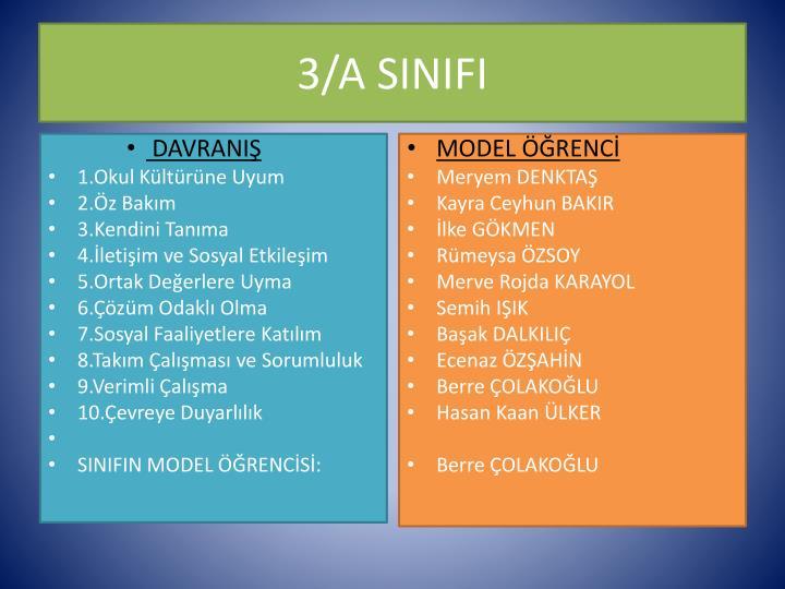 3/A SINIFI