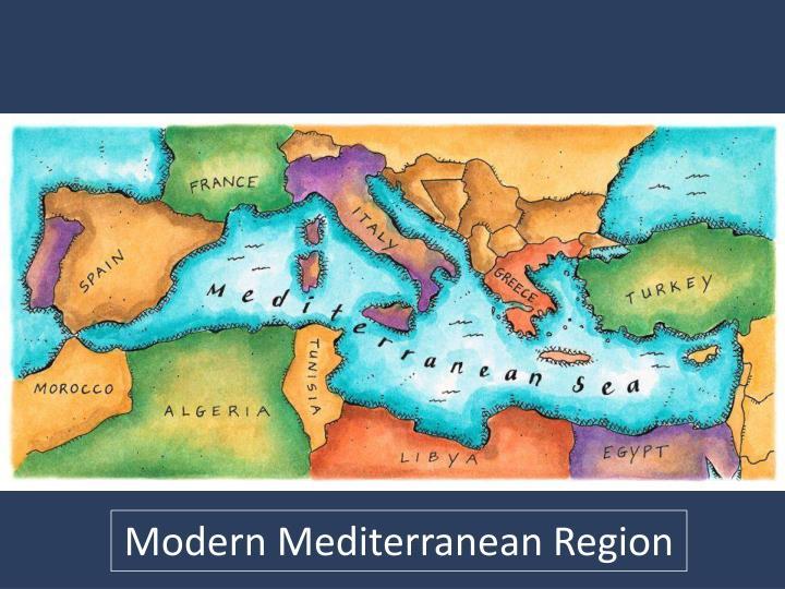 Modern Mediterranean Region