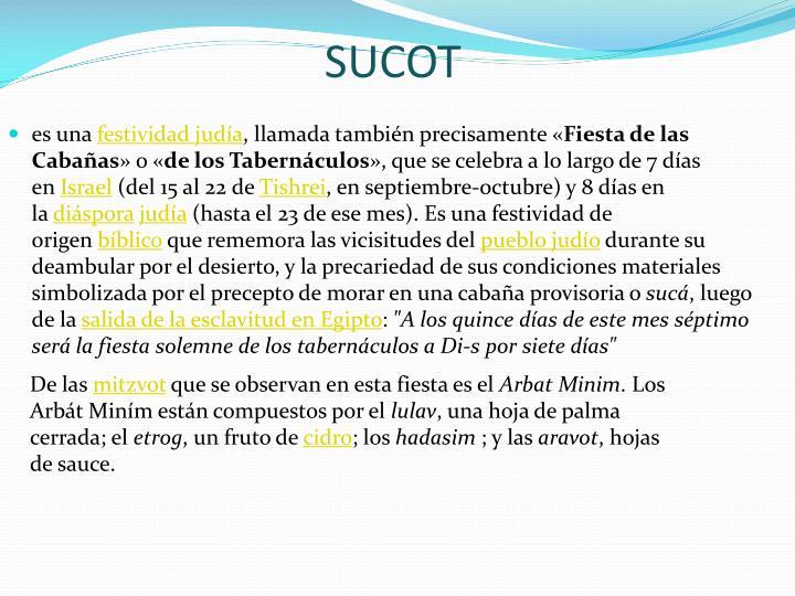SUCOT