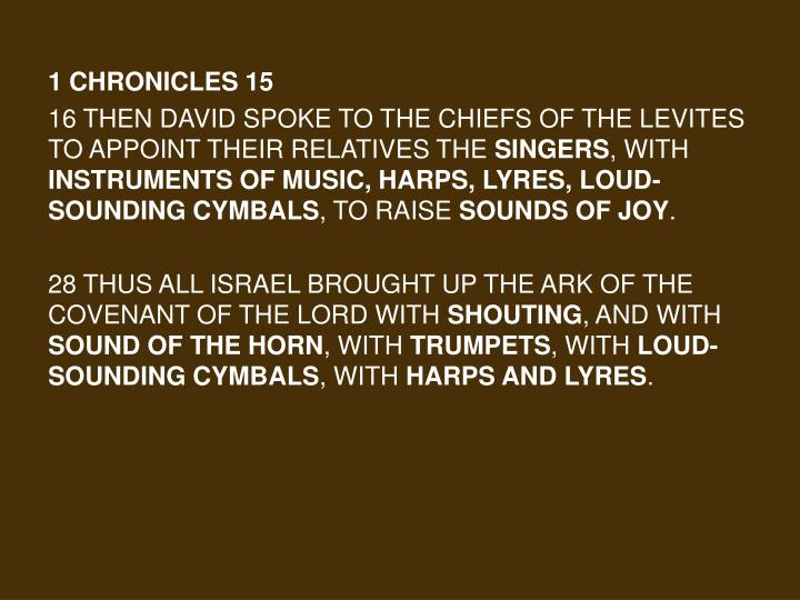1 Chronicles 15