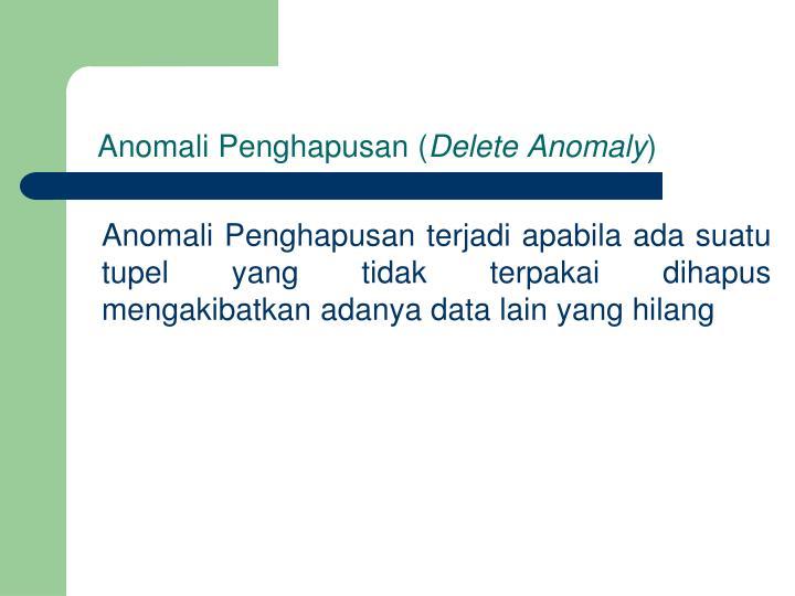 Anomali Penghapusan (