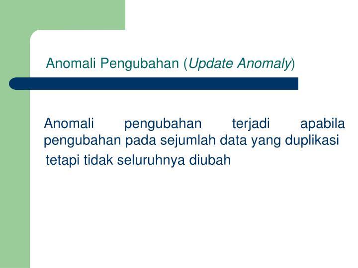 Anomali Pengubahan (
