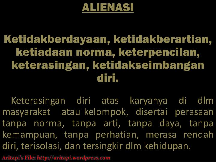 ALIENASI