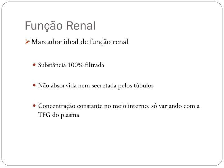 Função Renal