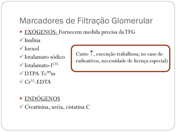 Marcadores de Filtração Glomerular